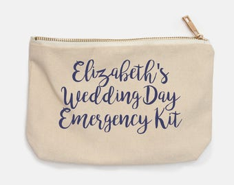 Customizable Wedding Day Emergency Kit