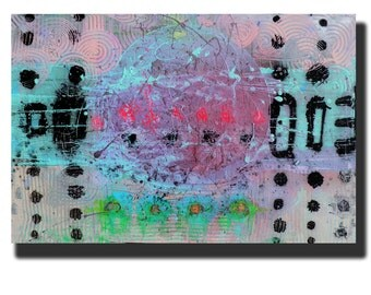 """Art Painting Abstract Painting Acrylic Painting Canvas Painting """"Melted Dreams"""" 24""""x36"""" Original Painting"""