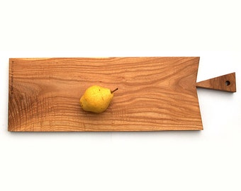 Ash \ Wood \ Serving Platter \ Cutting Board \  Salvaged