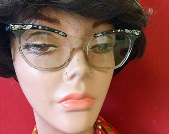 Vintage Women's Horn Rimmed Glasses