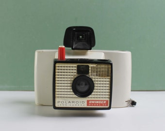 Vintage Polaroid Swinger Model 20, Vintage Camera, Poalroid Land Camera