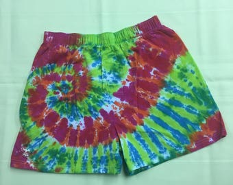 Tie Dye Boxers IN STOCK - M