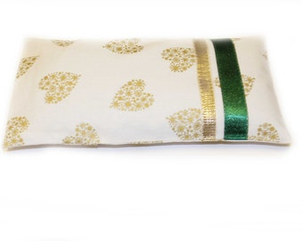Lavender Eye Pillow, Meditation, Relaxation, Cotton Eye Pillow, Washable, Microwavable, Eco Friendly, Heating Eye pad,Christmas Gift