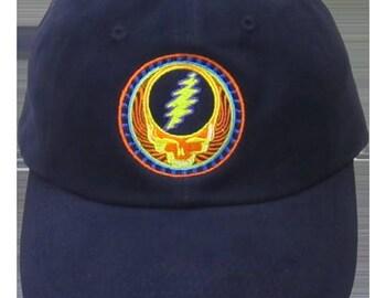 GD Orange Sunshine Embroidered Baseball Cap
