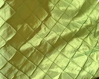 Satin Polyester pintuck  fabric