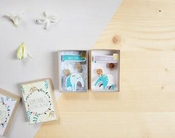 Sale type grognasse small message box / Miniature Art / Diorama / 3d Art / Decorative Matchbox / Miniature paper diorama / Love