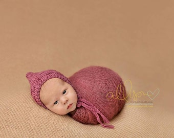 Newborn Hat, Classic Bonnet, Newborn Bonnet, Photo Prop