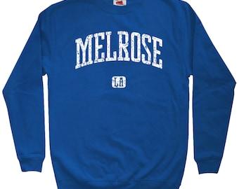 Melrose Los Angeles Sweatshirt - Men S M L XL 2x 3x - Crewneck, Gift, Melrose Sweatshirt, Los Angeles, Melrose Avenue West Hollywood Sweater