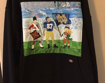 YUGE SALE! Notre Dame Football hoodie size 2X