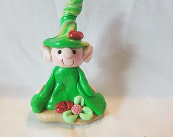 polymer clay troll, Fairy Accessories, Mini fairy troll, Fairy garden accessories , Fairy garden,