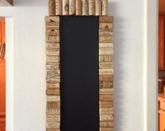 Magnetic Wine Cork Chalkboard
