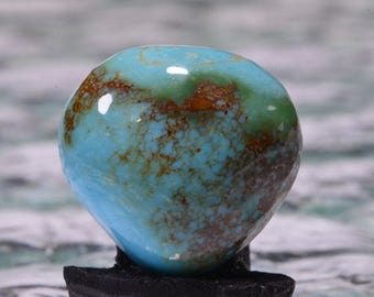 Kingman Turquoise 22.7x22x7.7mm Natural Gemstone Cabochon Turquoise Jewelry Supplies