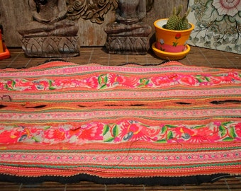 Embroidered Textile Leg Decoration Vintage Tribal Embroidery 1 Pair