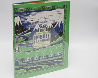 "Signed First Edition ""Annotated Hobbit"" JRR Tolkien 