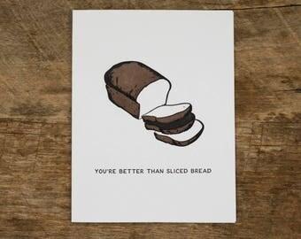 Sliced Bread Card