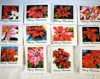 The Beauty of the Christmas Flower - Notecards