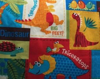Dinosaur Cotton Print 1.5yds Designer Doodles