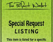 Special Request...RUSH my Order...for Rachel Foster