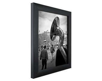 craig frames 10x14 inch modern black picture frame contemporary 1 wide 1wb3bk1014