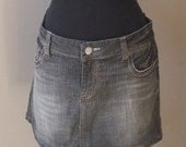20 % OFF Nov5-27 Closing Store: Was 25 now ONLY 15  Vintage American Eagle denim mini skirt size 14