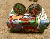 Asterix and Oberlix cufflinks