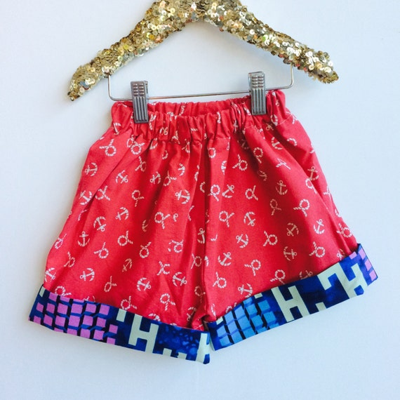 DANCE 1-3 Years Kids Childrens Shorts Pants Cullottes Cotton Pattern Unisex