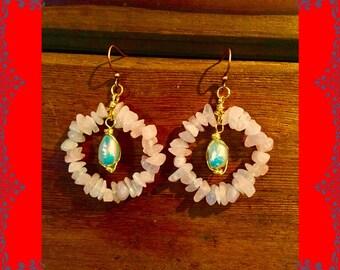Rose Quartz n Pearls