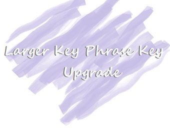 Necklace Upgrade | Upgrade To A Larger Key | Phrase Upgrade For Pennies and Keys
