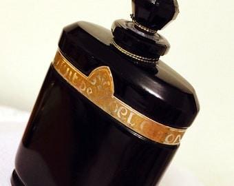 Vintage Caron Nuit de Noel perfume bottle (empty)