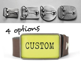 Custom belt buckle, Personalized belt buckle, gift for him, gift for her, men's belt buckle, women's belt buckle