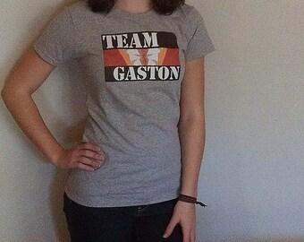 Team Gaston Hairy Chest Graphic T-Shirt - Gray