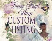 CUSTOM ORDER Balance for Carol, First Communion Doll, OOAK Porcelain Doll