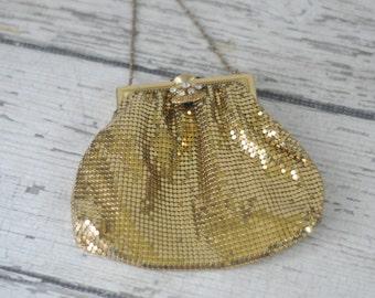 Vintage 1940's 1950's Duramesh Hand Bag Purse