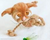 129 Crochet Pattern - Dobby the sad cat - Amigurumi soft toy PDF file by Pertseva Etsy