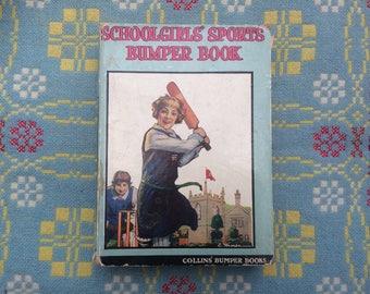 1920s Girls' Annual - Gorgeous Illustrations - Schoolgirls' Sports Bumper Book 1928