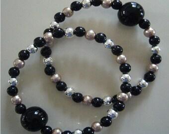 """Queasy Beads™ Motion Sickness Bracelets in """"Majestic Mocha"""""""