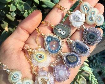 AMETHYST STALACTITE - necklace - Simple Beautiful Boho
