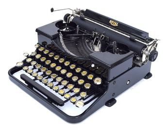 Royal Model P Typewriter Professionally Refurbished Portable w/Two New Ribbons & New Platen