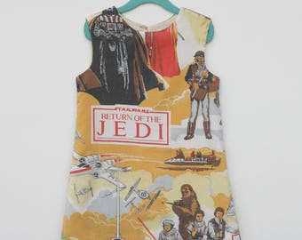 Upcycled Star Wars Toddler Dress