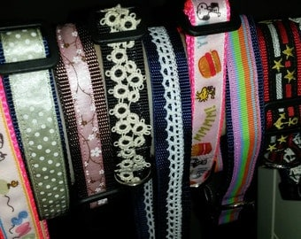 """LOT OF 9 3/4"""" Dog Collar Lot - Various Lengths - Clearance Wholesale"""
