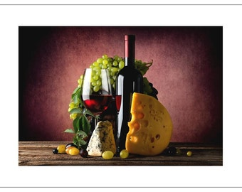 Still Life with Cheese - Birthday
