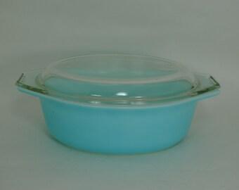 Pyrex Americana Blue Casserole