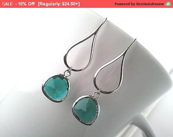 Amethyst, Emerald Earrings, Purple, Wedding Earrings,Bridal Jewelry, Green,Drop, Dangle,bridesmaid gifts, Christmas Gifts