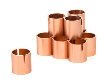 Set of 25 - Table Number Holders Rose Gold Copper Place Card Holders - Place Card Holder - Photo Holder - Table Number Stands Holder Copper