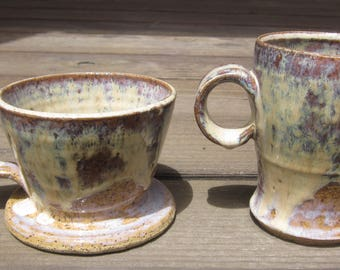Rainbow Ceramic Pour Over Set
