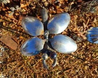 Garden Bumble Bug on a stake
