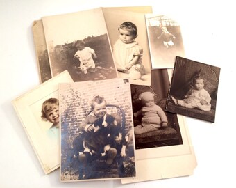 Baby Photographs, Set of 9