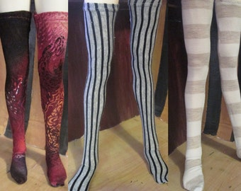 BJD 70cm Thigh High Doll Stockings