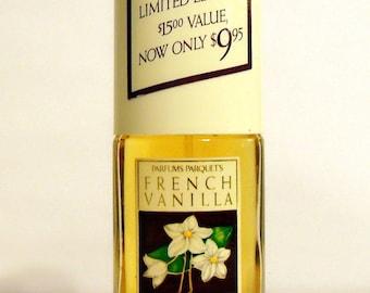 Vintage 1990s French Vanilla by Parfum Parquets 1.8 oz Eau de Parfum Spray PERFUME