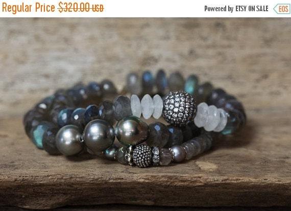 Sale Labradorite Bracelet Moonstone By Alisonstorryjewelry